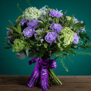 Le Mystérieux de Chenonceau | Purple Flower Bouquet | LPV Hong Kong