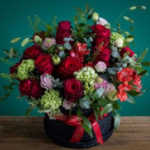 Hot Ruby Garden | Floral Arrangements Online | Online Flower Shop HK