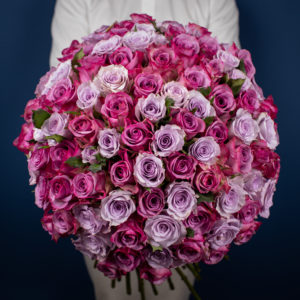 Undying Love | Roses Only Bouquet | 100 Roses Bouquet Delivery